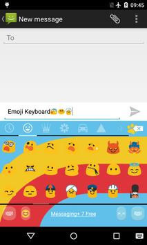 Emoji Keyboard-Primary Colors apk screenshot
