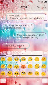 Emoji Keyboard-Rainbow Multi apk screenshot