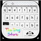Emoji Keyboard-The Dog Story icon