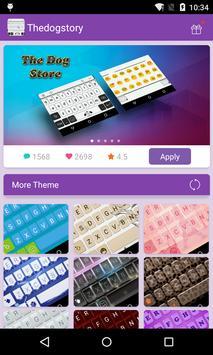 Emoji Keyboard-The Dog Story poster