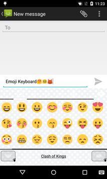 Emoji Keyboard-The Dog Story screenshot 3