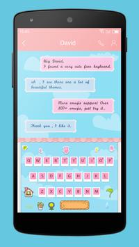 Emoji Keyboard-The Scenery apk screenshot