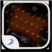 Emoji Keyboard-The Music icon