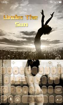 Emoji Keyboard-Under The Sun poster