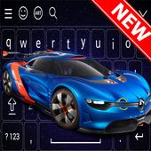 New Racing Car Keyboard Theme icon