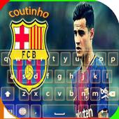 keyboard coutinho barcelona icon