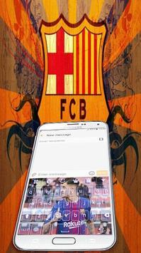 keyboard coutinho barcelona apk screenshot