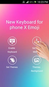 New Keyboard for iphone X Emoji screenshot 2