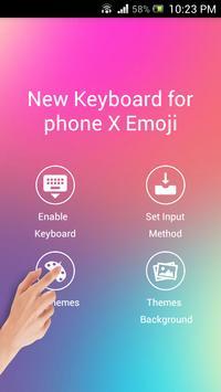 New Keyboard for iphone X Emoji screenshot 3
