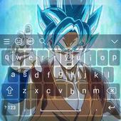 Super Saiyan Goku DBZ Keyboard icon