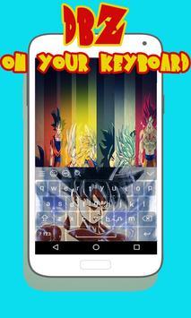 Super Saiyan Goku DBZ Keyboard poster