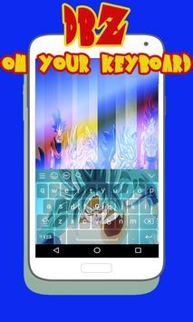 Super Saiyan Goku DBZ Keyboard screenshot 1