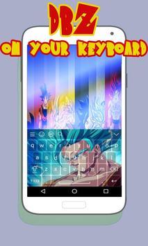 Super Saiyan Goku DBZ Keyboard screenshot 2
