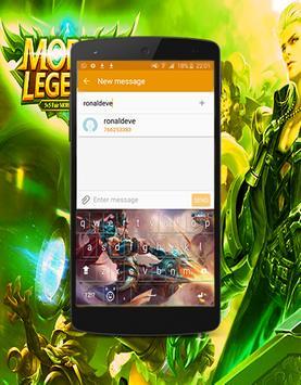 Keyboard Hero Mobile Legend Theme poster