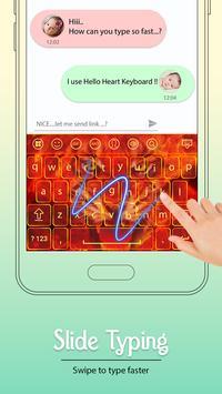 Fire Keyboard apk screenshot