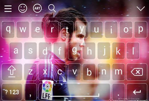 Keyboard For Gareth Bale screenshot 3