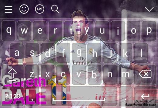 Keyboard For Gareth Bale screenshot 2