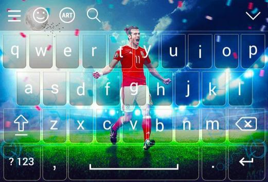 Keyboard For Gareth Bale screenshot 4