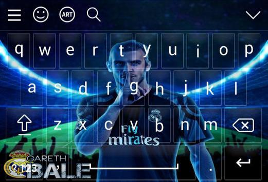 Keyboard For Gareth Bale screenshot 5