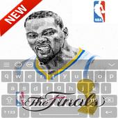 Keyboard - Kevin Durant NBA icon