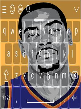 Keyboard - Kevin Durant NBA screenshot 3