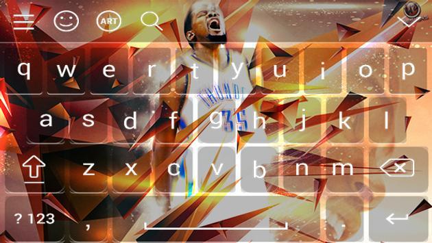 Keyboard - Kevin Durant NBA screenshot 2