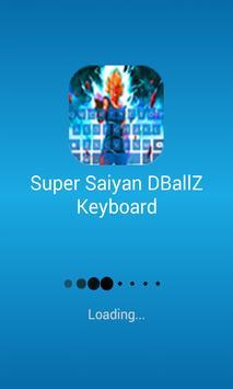 Super Sayan DBellZ Guku Keyboard poster