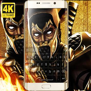 Scorpion - MORTAL KOMBAT X  keyboard poster