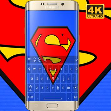 Superman Keyboard HD poster