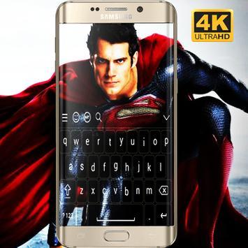 Superman Keyboard HD screenshot 1
