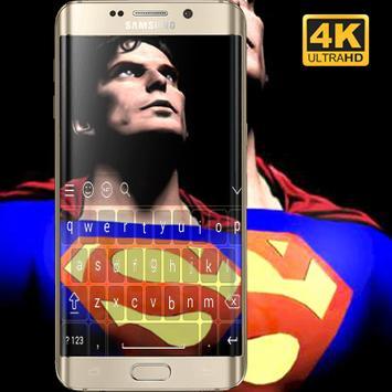 Superman Keyboard HD screenshot 2
