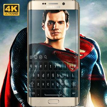 Superman Keyboard HD screenshot 3