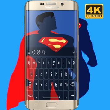 Superman Keyboard HD screenshot 4