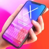 Pink Phone X Keyboard icon