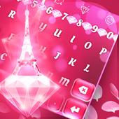 Pink Diamond Paris Keyboard icon