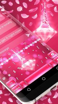 Pink Diamond Paris Keyboard screenshot 2
