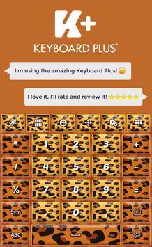 Keyboard Cheetah poster