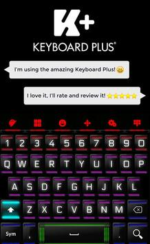 Neon Keyboard screenshot 1