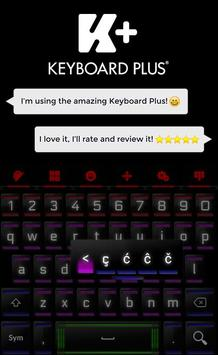 Neon Keyboard screenshot 2