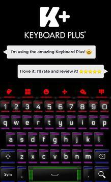 Neon Keyboard poster
