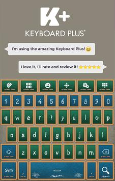 Back to School Keyboard poster