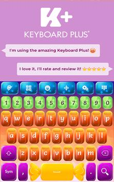 Keyboard Candy poster