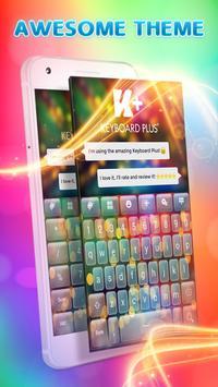 Color Flash Keyboard poster