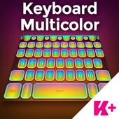 Keyboard Multicolor icon