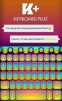 Keyboard Multicolor apk screenshot
