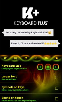 Keyboard Neon Rasta apk screenshot