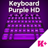 Keyboard Purple HD icon