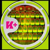 Keyboard Rasta icon
