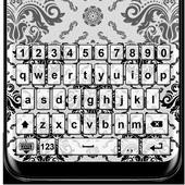 Black & White Keyboard Themes icon