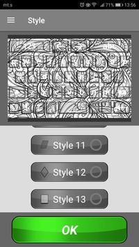 Black & White Keyboard Themes screenshot 3